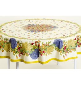 Cotton Rose Lavande 70 inch Round