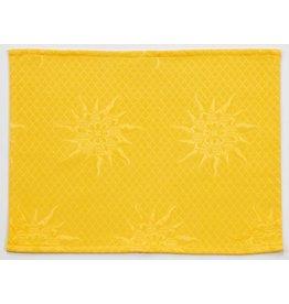 BB Jacquard Placemat, Yellow
