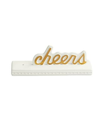 Nora Fleming SG01 ''Cheers'' Sign