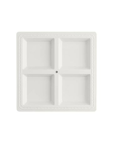 Nora Fleming MEL01 Square Melamine Divided Server