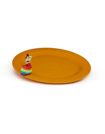 Nora Fleming FIESTA01 Fiesta Platter & Mini Set