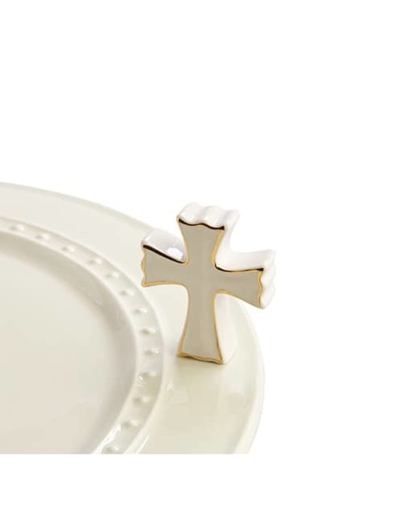 Nora Fleming A176 Cross/White Cross