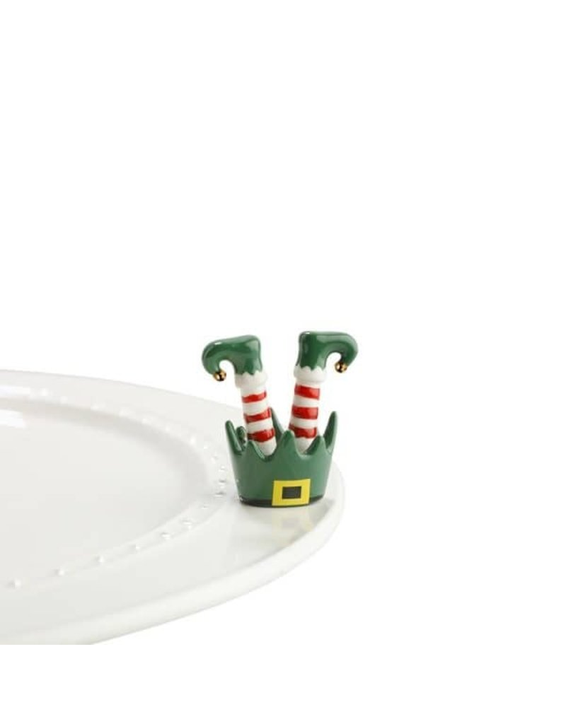 Nora Fleming A143 Jingle Toes/Elf Feet