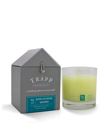 Trapp Fragrances #13 Bob's Flower Shop 7oz Candle
