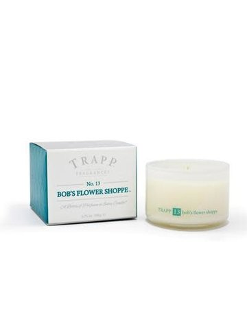 Trapp Fragrances #13 Bob's Flower Shop 3.75oz Candle