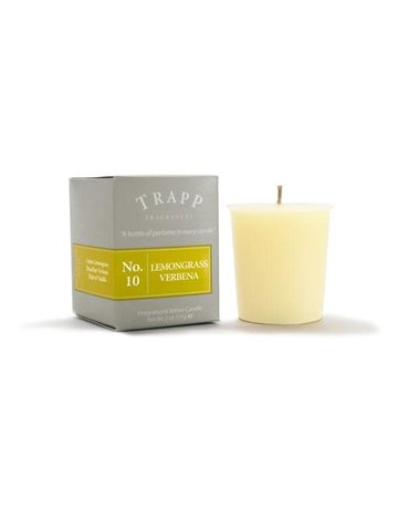 Trapp Fragrances #10 Lemongrass Verbena 2oz Candle