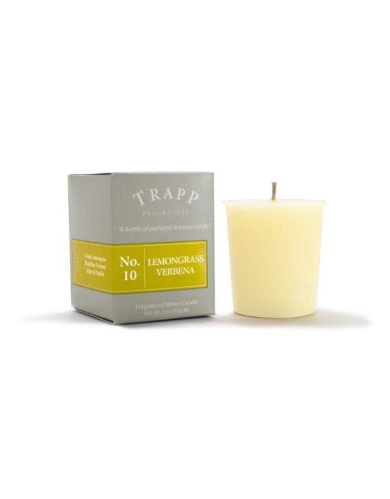 Trapp Fragrances #10 Lemongrass Verbena 2oz Candle