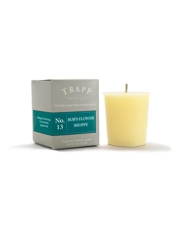 Trapp Fragrances #13 Bob's Flower Shop 2oz Votive Candle
