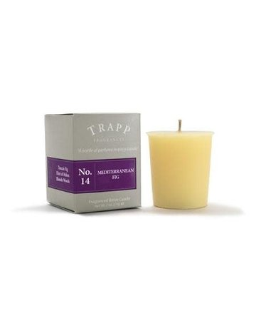 Trapp Fragrances #14 Mediterranean Fig 2oz Votive Candle