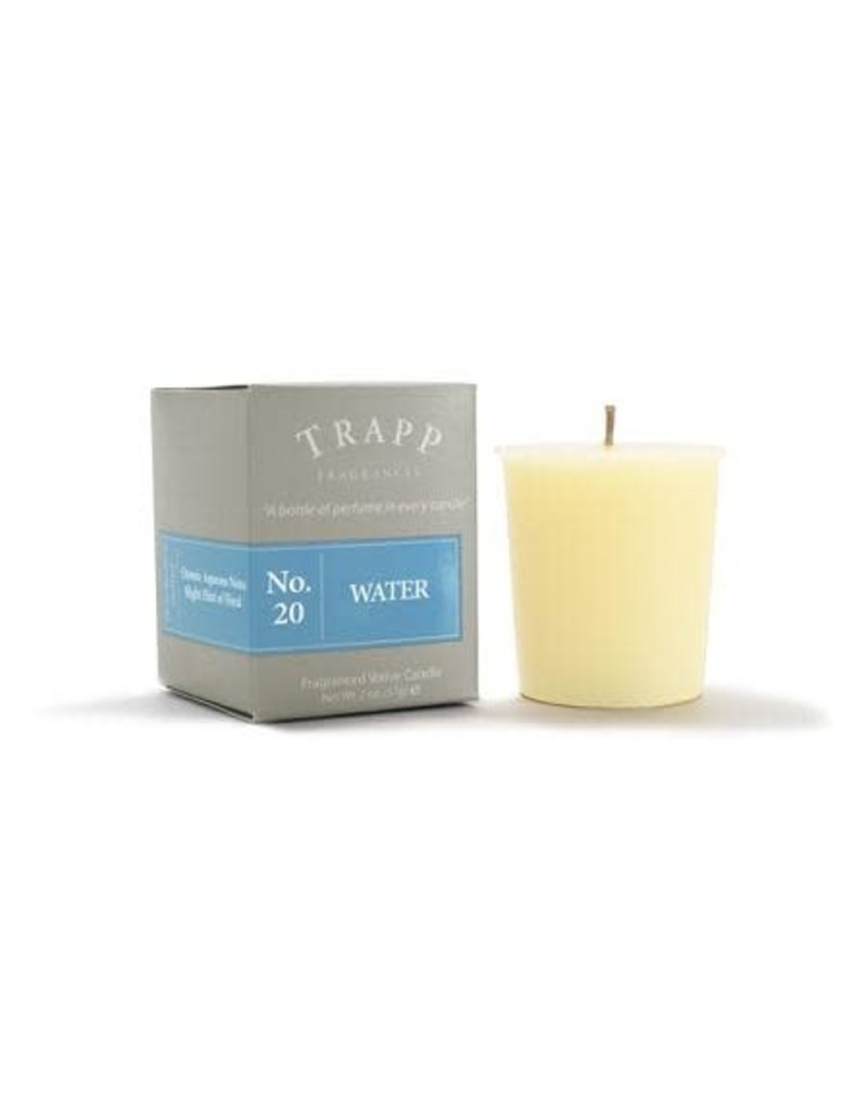 Trapp Fragrances #20 Water 2oz Votive Candle