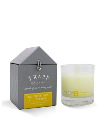 Trapp Fragrances #10 Lemongrass Verbena 7oz Candle