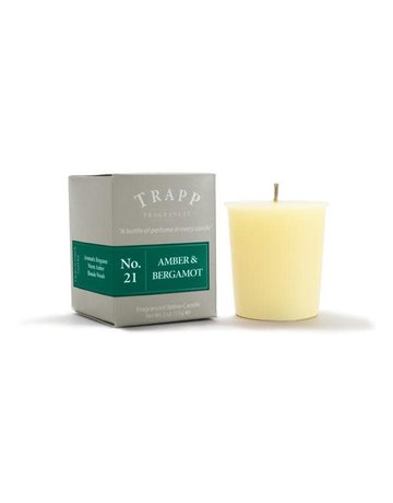 Trapp Fragrances #21 Amber & Bergamot 2oz Candle