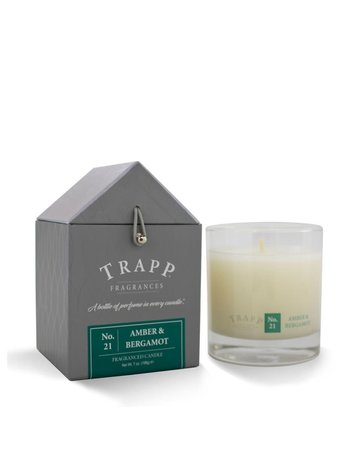 Trapp Fragrances #21 Amber & Bergamot 7oz Candle