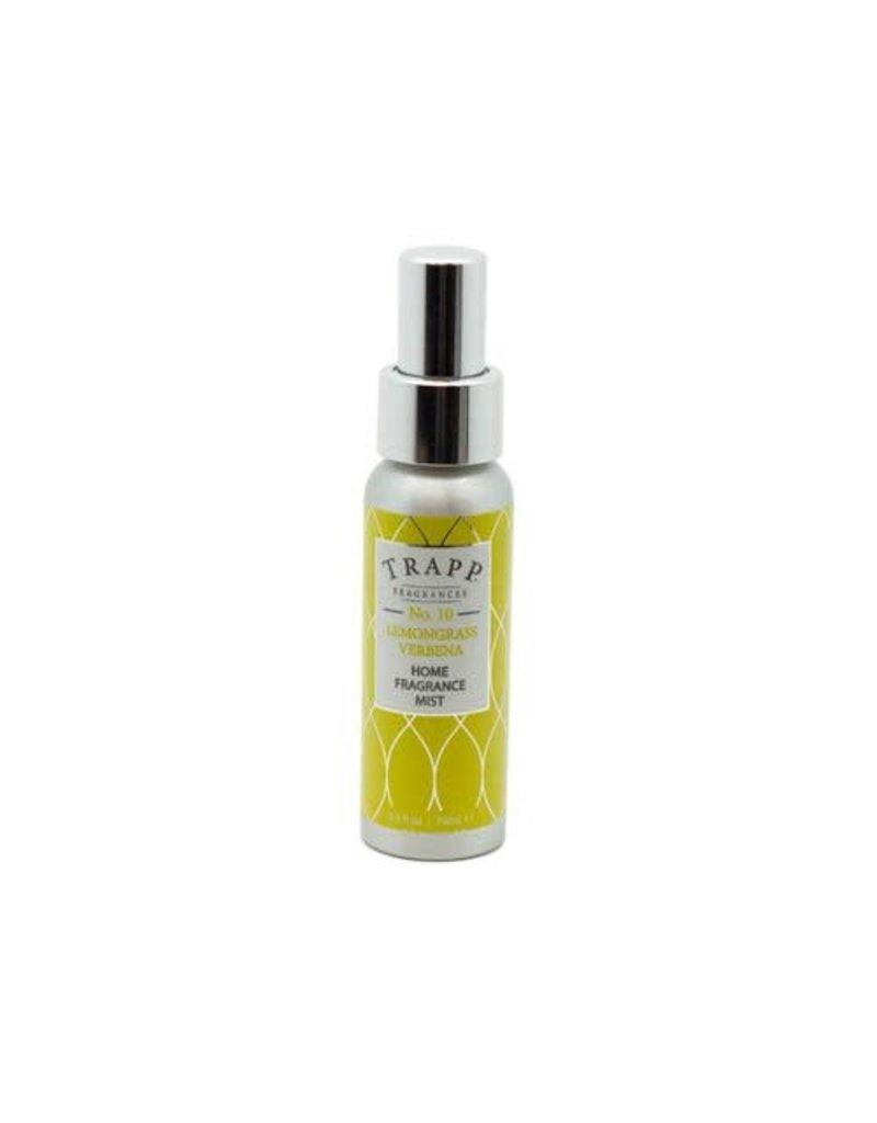 Trapp Fragrances #10 Lemongrass Verbena 2.5oz Home Fragrance Mist