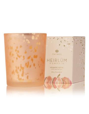 Heirlum Pumpkin Votive Candle