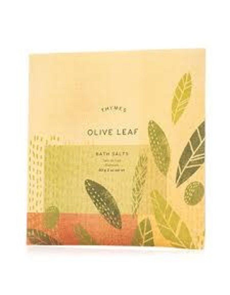 Olive Leaf Bath Salt Envelope
