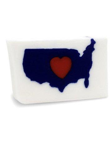 Primal Elements I (Heart) USA Sliced Bar