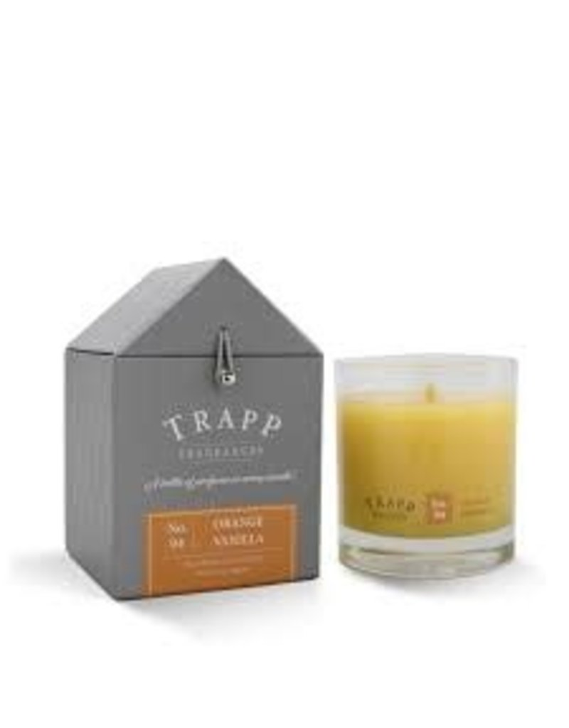 Trapp Fragrances #4 Orange/Vanilla 7oz Candle