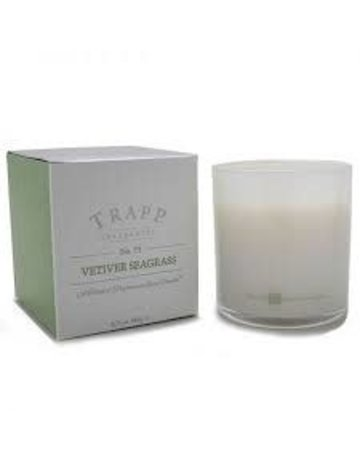 Trapp Fragrances #73 Vetiver Seagrass 7oz Candle