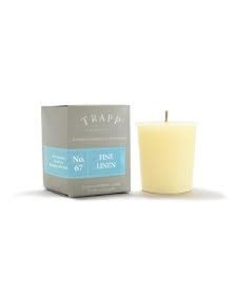 Trapp Fragrances #67 Fine Linen 2oz Candle