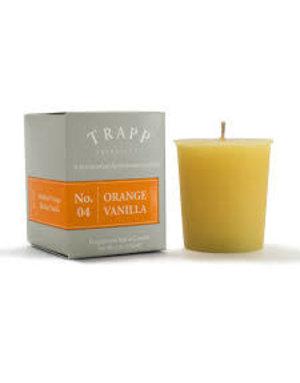 Trapp Fragrances #4 Orange/Vanilla 2oz Candle