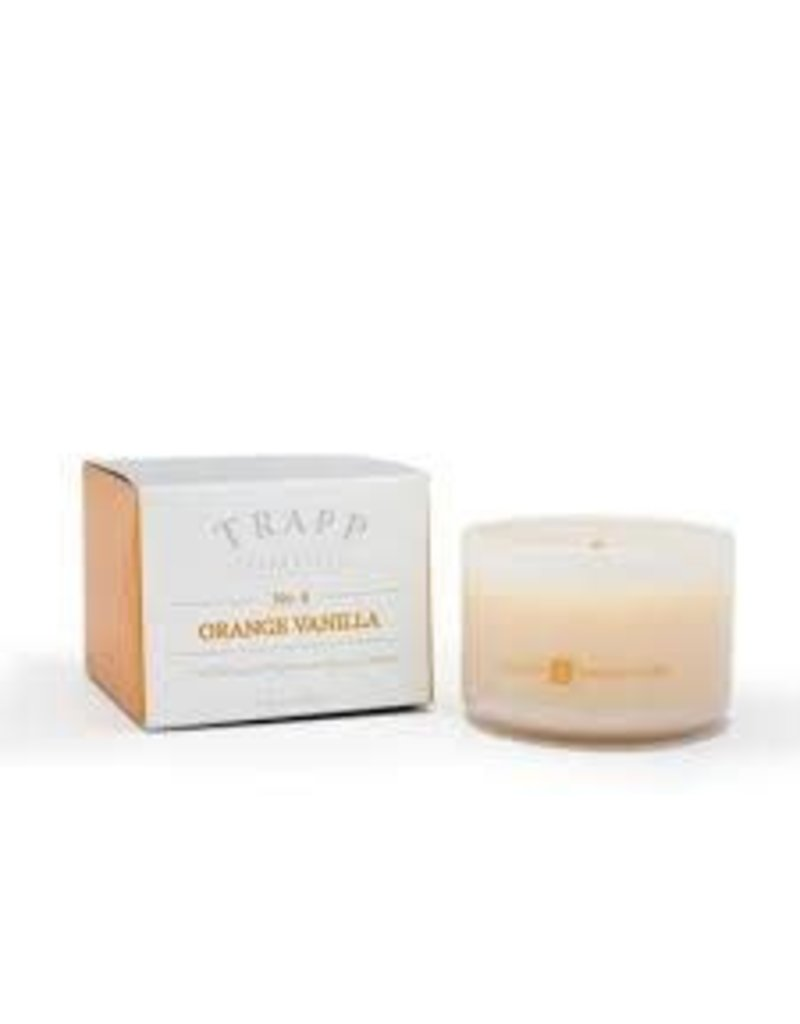 Trapp Fragrances #4 Orange/Vanilla 3.75oz Candle