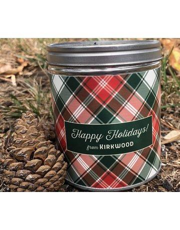 Aunt Sadies Merry Plaid-Happy Holidays From Kirkwood-Pine
