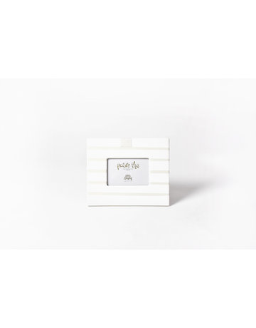 White Stripe Mini Frame