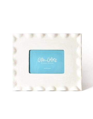 Signature Ruffle 11 Frame White