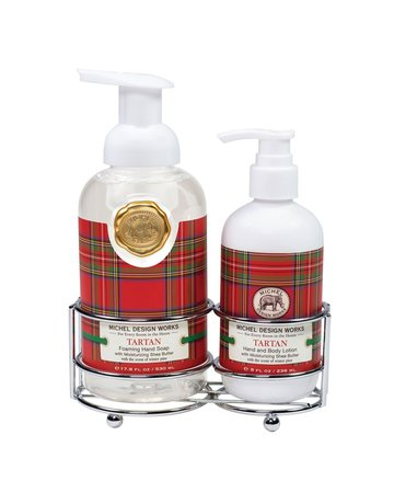 Michel Design Works Tartan Handcare Caddy