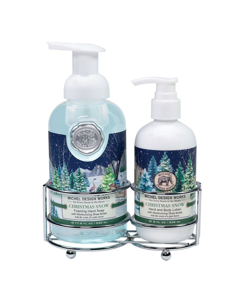 Michel Design Works Christmas Snow Handcare Caddy