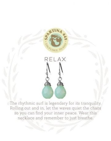 SLV Drop Earrings Relax/Water Drop SIL