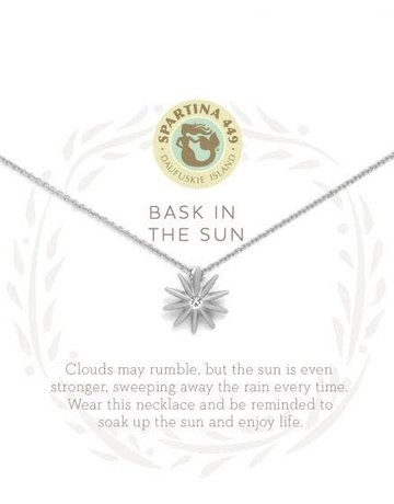 "SLV Necklace 18"" Bask In The Sun SIL"