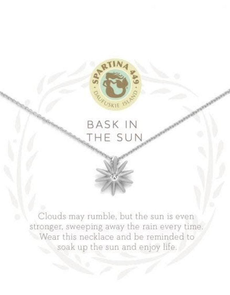 """SLV Necklace 18"""" Bask In The Sun SIL"""