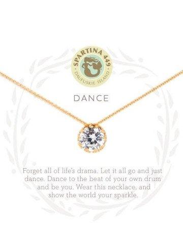 """SLV Necklace 18"""" Dance/Gem"""