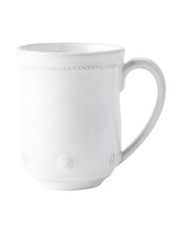 Juliska JM/W Berry & Thread Whitewash Mug