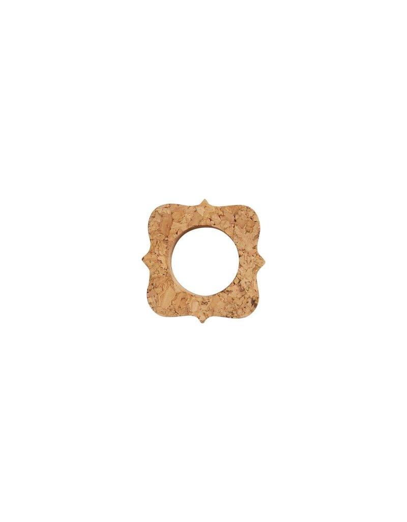 """Juliska Quinta 3"""" Natural Cork Napkin Ring"""
