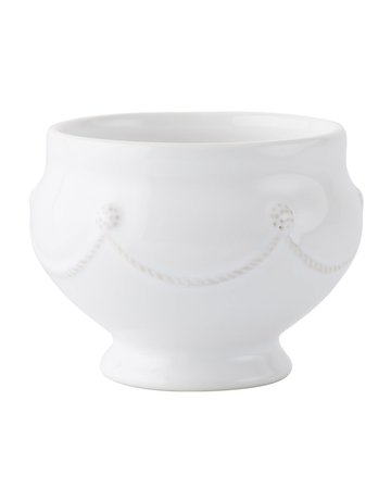 Juliska JA71/W Berry & Thread Whitewash Footed Soup Bowl