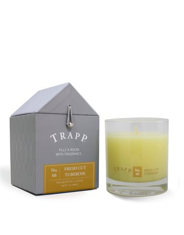 Trapp Fragrances #8 Fresh Cut Tuberose 7oz Candle