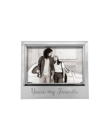 4300YMF You're My Favorite 4x6 Signature Frame