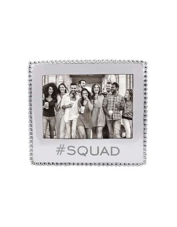 3911SQ #Squad Beaded 5x7 Frame
