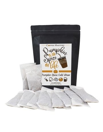 Pumpkin Spice Cold Brew Bag- 10 Packets (32oz each Packet)