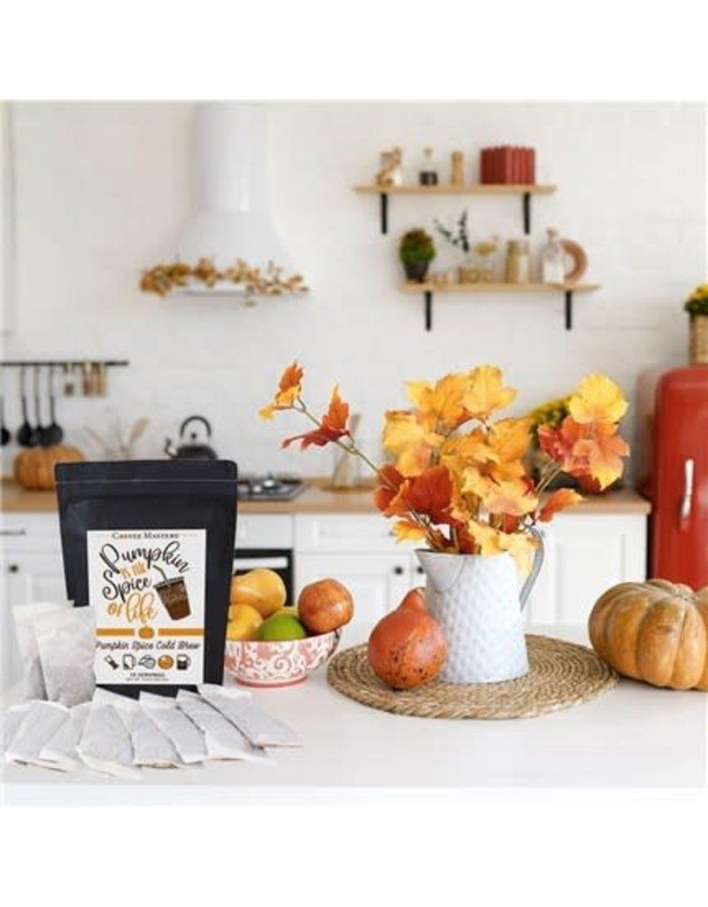 Pumpkin Spice Cold Brew Bag- 10 Packets (32oz each Packet)