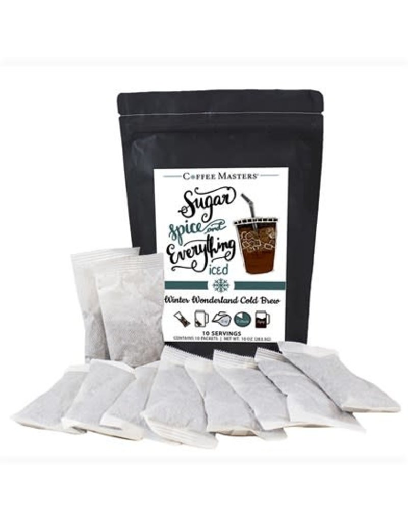 Winter Wonderland  Cold Brew Bag- 10 Packets (32oz each Packet)