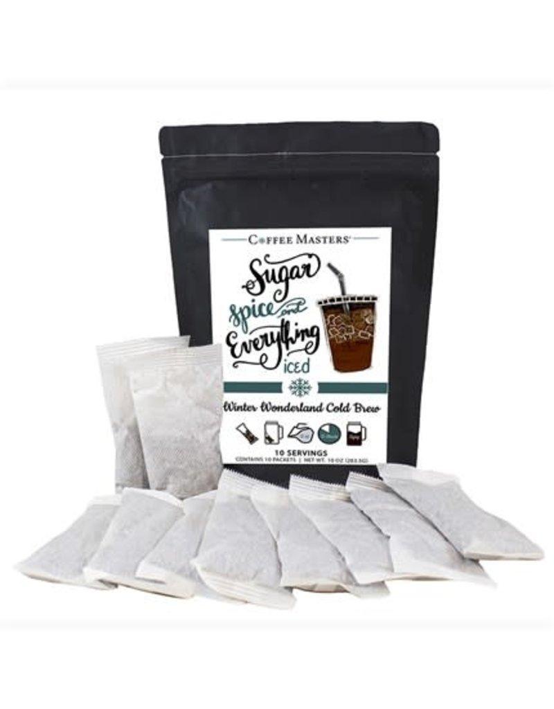 Winter Wonderland  Cold Brew Bag- 10 Packets (32oz each Packet)