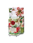 Michel Design Works Merry Christmas Foaming Soap And Hostess Napkin Holder