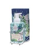 Michel Design Works Christmas Snow Foaming Soap And Hostess Napkin Holder