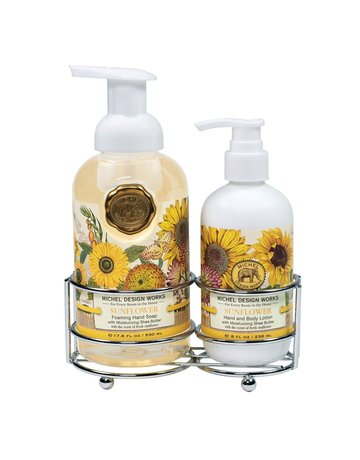 Michel Design Works Sunflower Handcare Caddy