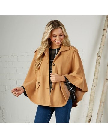 Mud Pie Webster Cape Camel