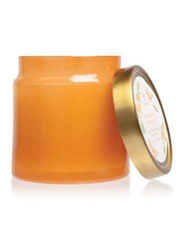 Mandarin Coriander Glass Jar Candle